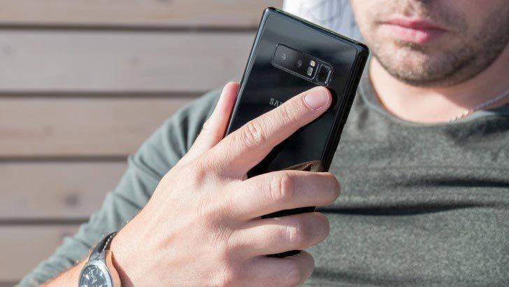 Galaxy Note 8 dính lỗi 'đơ máy'
