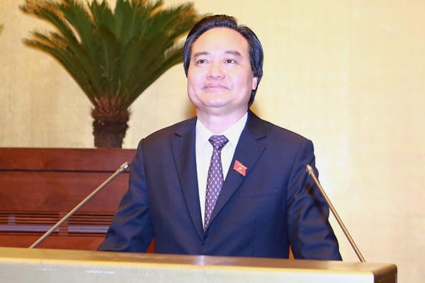 Bộ trưởng GD-ĐT,Phùng Xuân Nhạ,đổi mới giáo dục,sách giáo khoa mới,sách giáo khoa