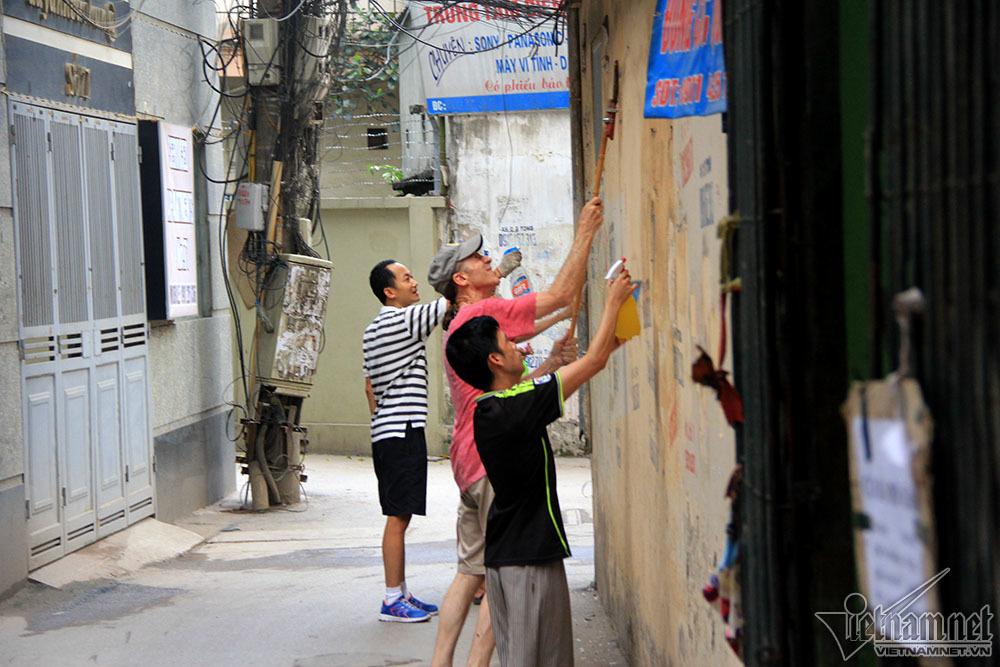 con đường bức họa,Hà Nội