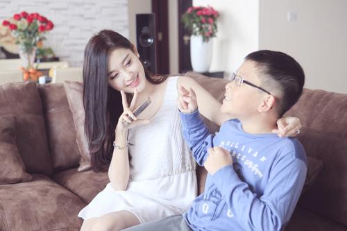 Chung cư tiền tỷ của gia đình Huyền My đẹp ra sao?