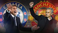 Chelsea đấu MU: Mourinho khiến Conte run rẩy