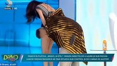 Nữ MC hớ hênh trên sóng truyền hình vì 'ảo giác'