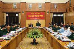 Chủ tịch nước dự, chỉ đạo hội nghị Quân ủy Trung ương