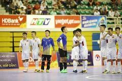 Thua Myanmar, futsal Việt Nam trắng tay ở giải Đông Nam Á