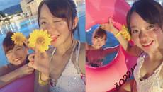 Giới trẻ Nhật thích tốn tiền 'quẩy tưng bừng' tại bể bơi hơn tắm biển