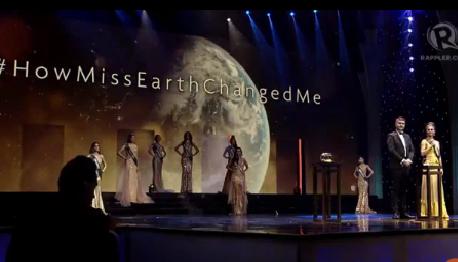 Phần thi ứng xử của Hoa hậu Trái đất 2017