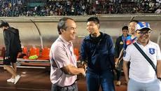 Hạ CLB Sài Gòn, bầu Đức và Công Phượng mừng như vô địch V-League