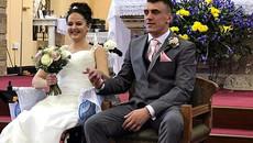 Đám cưới của cô gái mắc ung thư xương giai đoạn cuối