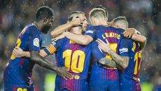 Messi ăn thẻ phạt, Barca chật vật hạ Sevilla