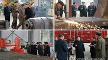 Jong Un muốn đưa ngành ôtô Triều Tiên lên tầm thế giới