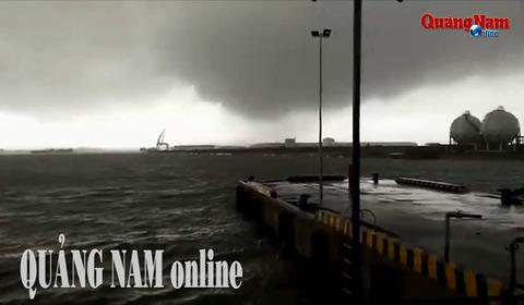 lốc xoáy ở Quảng Nam