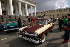 Ô tô Volga 'bộ trưởng': Xe Nga nổi tiếng Việt Nam hồi sinh