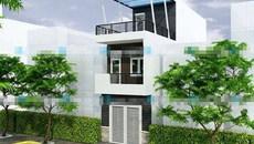 10 mẫu nhà phố 2 tầng không tốn kém năm 2018