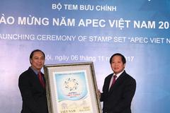 Phát hành đặc biệt bộ tem APEC Việt Nam 2017
