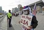 An ninh Seoul 'căng như dây đàn' đón ông Trump