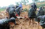 Lở đất vùi lấp 4 công nhân đang vận hành thủy điện