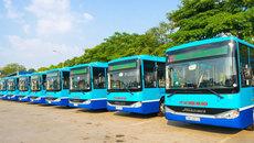 Hà Nội thay một loạt xe buýt mới