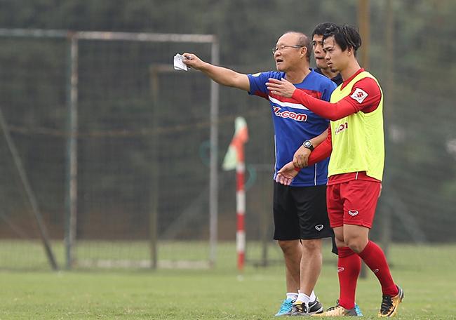 Công Phượng,HLV Park Hang Seo,U23 Việt Nam