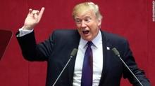 Ông Trump cảnh báo Triều Tiên đừng 'thử thách' Mỹ
