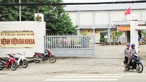 Nổ súng trấn áp nhóm thanh niên truy sát trong bệnh viện Phú Quốc