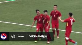 Video bàn thắng U19 Việt Nam 4-0 U19 Lào