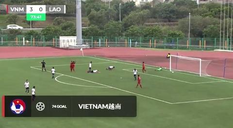 U19 Việt Nam 4-0 U19 Lào: Tuyệt phẩm của Tiến Anh