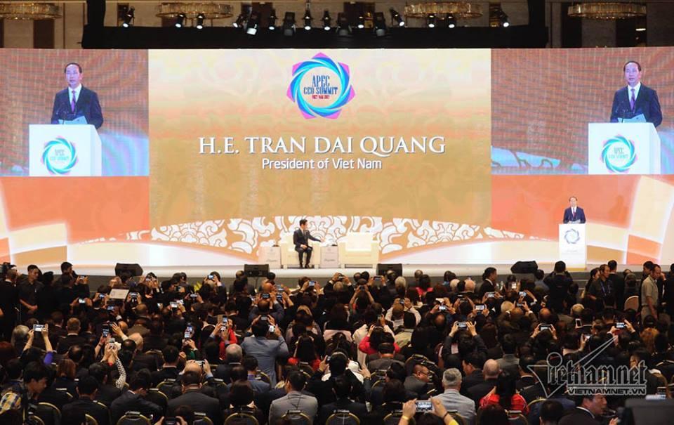 Chủ tịch nước,Trần Đại Quang,APEC,APEC 2017