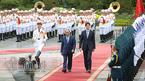 Hình ảnh lễ đón chính thức Thủ tướng Canada tại Hà Nội