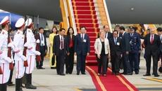 Tổng thống CH Chile bắt đầu thăm cấp Nhà nước tới Việt Nam