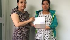 Trao hơn 60 triệu đồng cho bé Vũ Thanh Phong