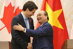 Việt Nam - Canada xác lập quan hệ đối tác toàn diện