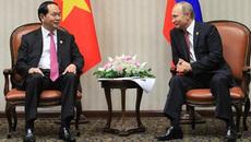 Chủ tịch nước gửi thư cảm ơn Tổng thống Nga Putin