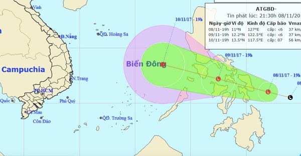 Dự báo thời tiết,bản tin thời tiết,tin thời tiết,thời tiết Hà Nội,áp thấp nhiệt đới