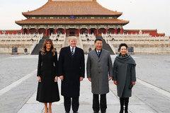 Trung Quốc đóng cửa Tử Cấm Thành để đón ông Trump