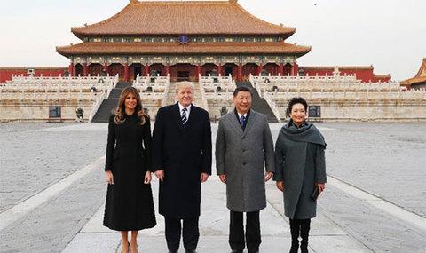 Trump thăm Tử Cấm THành