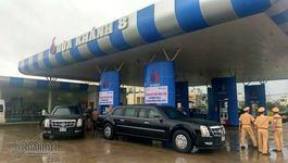 Chủ cây xăng tiết lộ số nhiên liệu phục vụ 'Quái thú' Mỹ