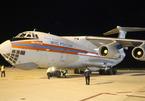 Máy bay vận tải Nga chở thịt hộp, đường sữa cứu trợ hạ cánh ở Cam Ranh