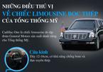 Vì sao ô tô của Tổng thống Mỹ được mệnh danh là 'Quái thú'?