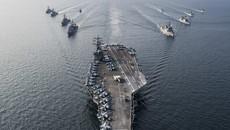 Tiết lộ kế hoạch tập trận chung của 3 tàu sân bay Mỹ