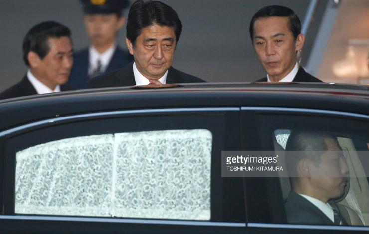 Xe chống đạn đắt nhất Nhật Bản của Thủ tướng Abe
