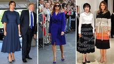 Báo chí châu Á nức nở khen thời trang của bà Trump