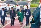 Chủ tịch nước chủ trì lễ đón Tổng thống Chile