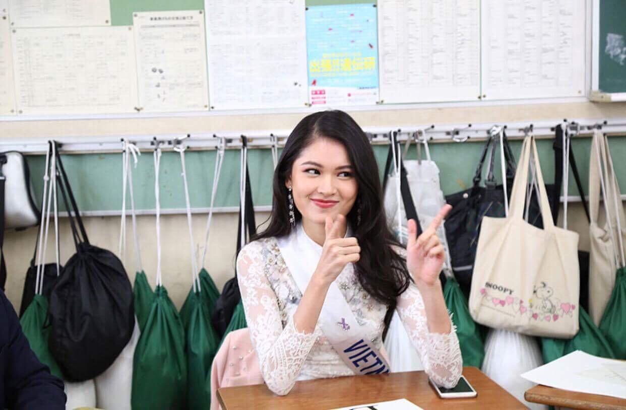 Thùy Dung bất ngờ đổ bệnh trước thềm chung kết Miss International