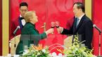 Chủ tịch nước chủ trì Quốc yến chào mừng Tổng thống Chile
