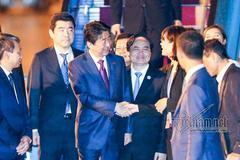 Chuyên cơ chở Thủ tướng Nhật Bản tới Đà Nẵng