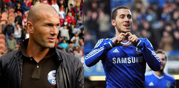 Hazard,Eden Hazard,Chelsea,Real Madrid,Zidane