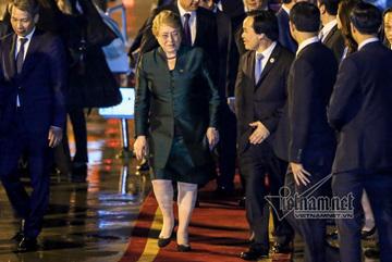 Nữ Tổng thống Chile tới Đà Nẵng