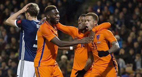Scotland 0-1 Hà Lan