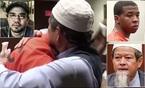 Cha nạn nhân ôm kẻ giết con, thẩm phán bật khóc