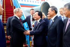 Tổng thống Nga Putin tới Đà Nẵng